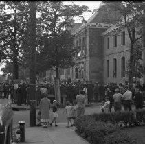 Image of Cornerstone Laying New Post Office, New Brunswick, NJ 616 173