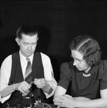 Image of Sarah and Elton, Christmas Card, 1938 - Unused - 11/19/1938
