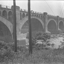 Image of Railroad bridge  - 06/20/1925
