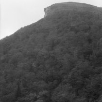 Image of Old Man of the Mountain from Across Profile Lake NH 1381