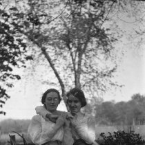 Image of Girls in a Field - ca. 1920