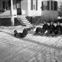 Image of Kids in Snow - 01/15/1938
