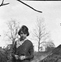 Image of Sarah Wade in a field (4) - 1918-1920