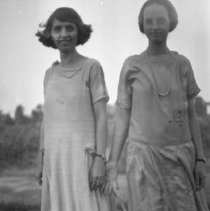 Image of Sarah and Dorothy Totten - ca. 1920