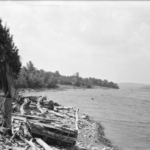 Image of Lake Wallenpaupack - south of the Zimmermann's property - 06/25/1938