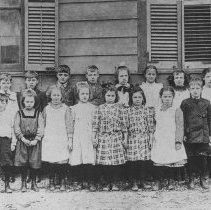 Image of Lower Grades, Middlebush Schoolhouse No. 5, Middlebush, NJ (c. 1910) -