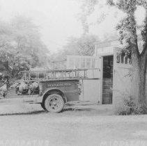 Image of Simplex Fire Engine, Middlebush, NJ (c. 1940) -