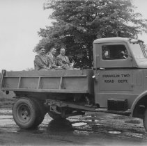 Image of Franklin Township Road Department Truck (1940) -