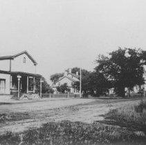 Image of Railroad Avenue, Middlebush, NJ (c. 1910) -