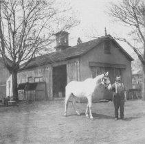 Image of Joseph Roach, Blacksmith, Middlebush, NJ (c. 1915)