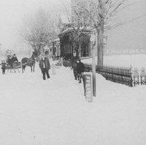 Image of Market Street, East Millstone, NJ (1907) - 1907