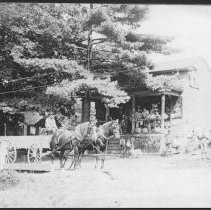 Image of Harvey Boice's Store and Post Office, Griggstown, NJ (c. 1910) -