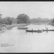 Image of Boating and Swimming in Griggstown, NJ (c. 1910)  -