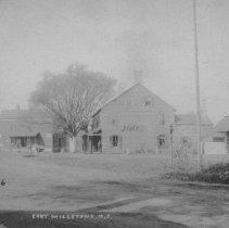 Image of Amwell Road, Base of the Canal Bridge, East Millstone, NJ (c. 1906) -