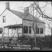 Image of John Honeyman House, Griggstown, NJ (c. 1905) -