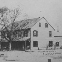 Image of Franklin Inn / Franklin Hotel, East Millstone, NJ (c. 1910)