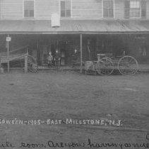 Image of Market Street Stores, East Millstone, NJ (1905) - 1905