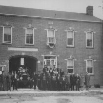 Image of Millstone Valley Fire Department, East Millstone, NJ (c. 1942) -