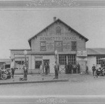 Image of Advertising: Bennett's Garage, East Millstone, NJ (c. 1925) -