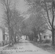 Image of Livingston Avenue, East Millstone, NJ (c. 1910) -