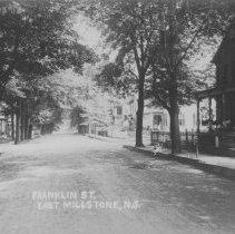 Image of Franklin Street, East Millstone, NJ (c. 1910) -