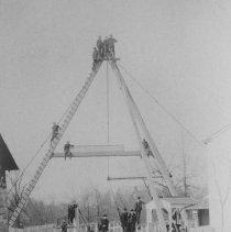 Image of Canal Swing Bridge, East Millstone, NJ (c. 1912) -