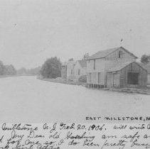 Image of Canal Buildings, East Millstone, NJ (c. 1906) -