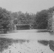 Image of Unfinished Railroad Bridge, East Millstone, NJ (c. 1910)