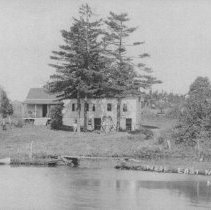 Image of House on the Millstone River Near East Millstone, NJ (c. 1910) -