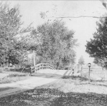 Image of Bridge in East Millstone, NJ (c. 1910)