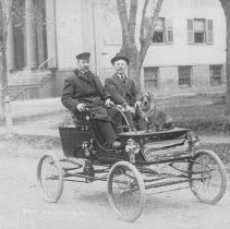 Image of Charles Van Nostrand and George Pace, East Millstone, NJ (c. 1907) -