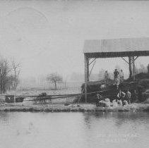 Image of Mechanized Thresher, East Millstone, NJ (1907) -