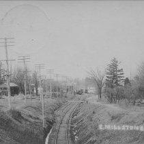 Image of Railroad Tracks, East Millstone, NJ (c. 1909) -