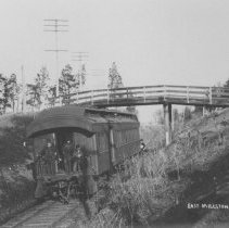 Image of Railroad Tracks, East Millstone, NJ (c.1910) -