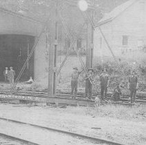 Image of Engine House, East Millstone, NJ (c. 1910) -