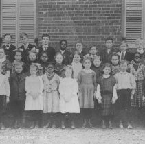 Image of School Group Photo: East Millstone Schoolhouse, East Millstone, NJ (c. 1907) -
