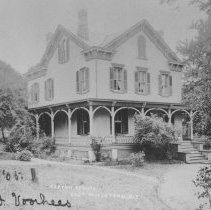 Image of Carter School/ A. T. Vroom House 'Willow Hill', East Millstone, NJ (c. 1905