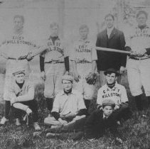 Image of Baseball Team, East Millstone, NJ (c. 1906) -