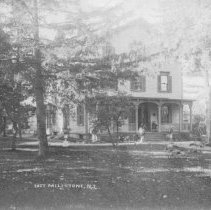 Image of House of Joseph H. Olcott, East Millstone, NJ (c. 1910) -