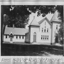Image of Frelinghuysen Chapel, Six Mile Run Reformed Church, Franklin Park, NJ (1911)