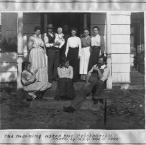 Image of Morning after the 15th Anniversary celebration of Abrm. & Matilda Voorhees - 11/11/1905