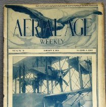 "Image of Aviation Magazine: ""Aerial Age"" - 0002.1919.01.Aerial Age"