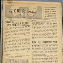 "Image of Aviation Magazine: ""Ex-CBI Roundup Magazine"" - 0003.1947.01 Ex-CBI Roundup"