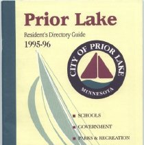 Image of Booklet, Prior Lake Resident's Guide