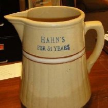 Image of Pitcher, Hahn's Store
