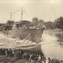 Image of Photo, Launching of the Genesee