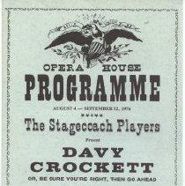 Image of 1999.012.0014 - Program, Theater