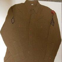 Image of Shirt, World War II, Civil Def