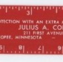 Image of Ruler, Julius Coller Law Firm