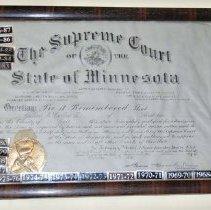 Image of 2000.049.0011 - Certificate, Membership